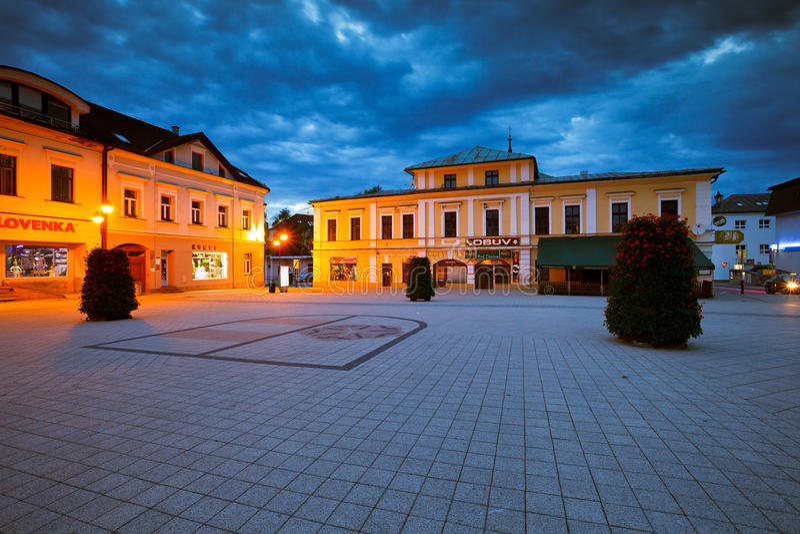 Dolny Kubin, Eslováquia fotografia de stock royalty free