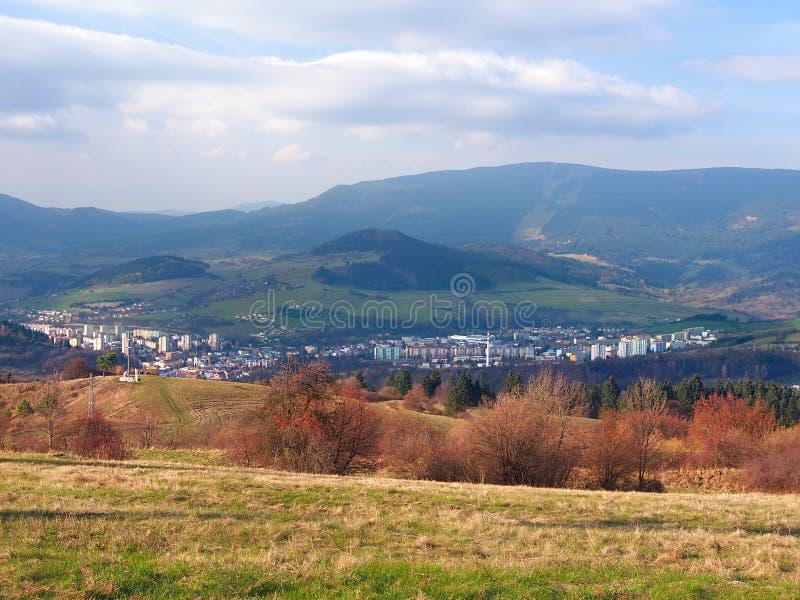 Dolny Kubin town, Orava region, Slovakia stock image