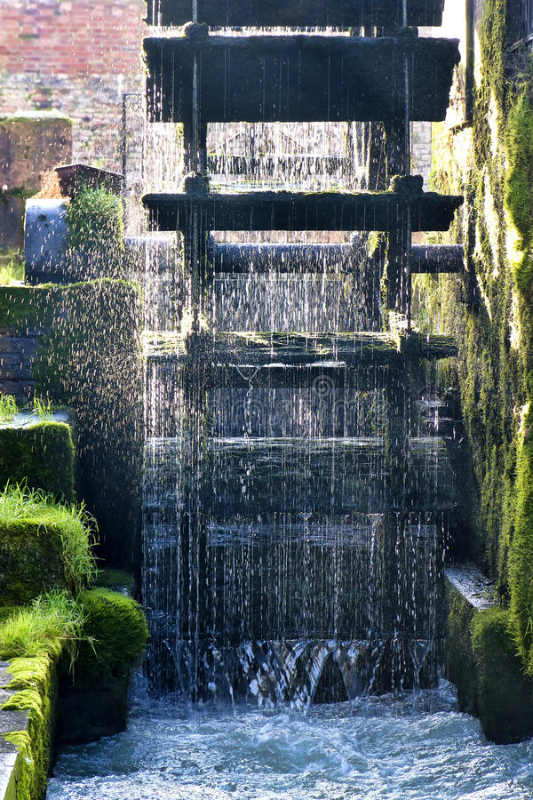 Dolo, Venezia. Watermill in Dolo, Venice, Italy royalty free stock images