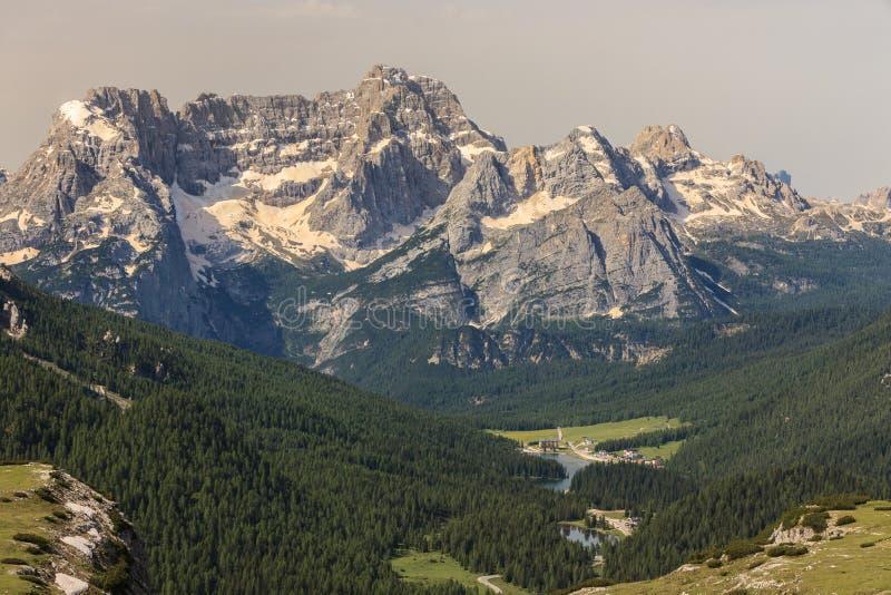 Dolomia dell'Italia fotografia stock libera da diritti