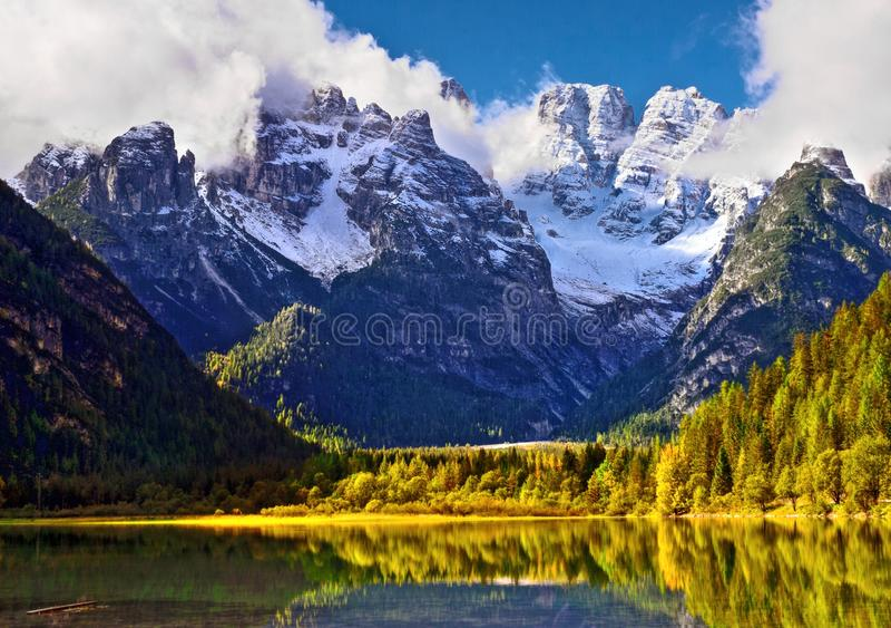 Dolomiet Italië stock fotografie