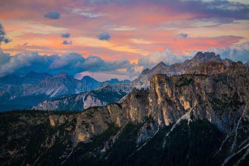 Dolomietalpen Italië royalty-vrije stock fotografie