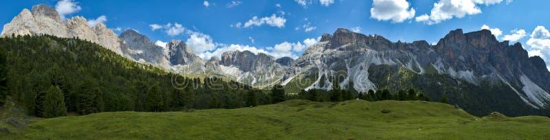 dolomitów Italy góry odle stevia fotografia stock