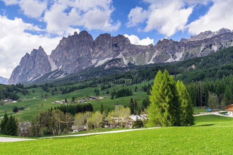 Dolomit, Włochy zdjęcie royalty free