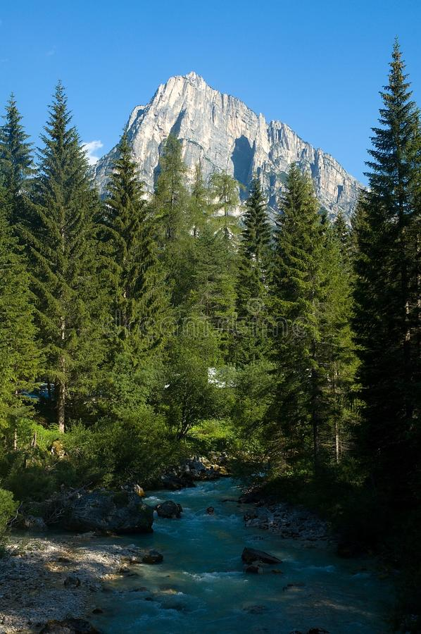 Download In the Dolomite Alps stock image. Image of auronzo, italy - 26545175
