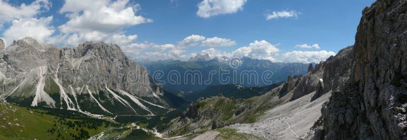 Dolomite landscape royalty free stock photos