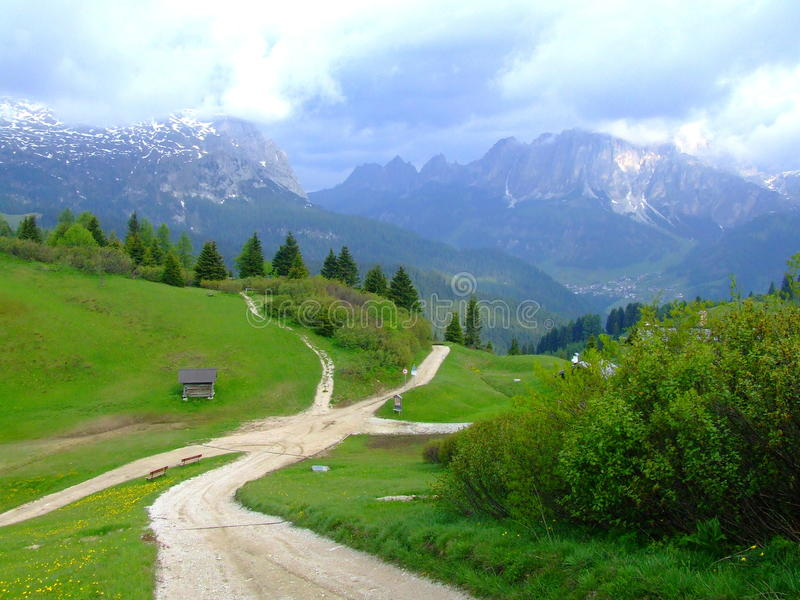 Dolomites foto de stock royalty free