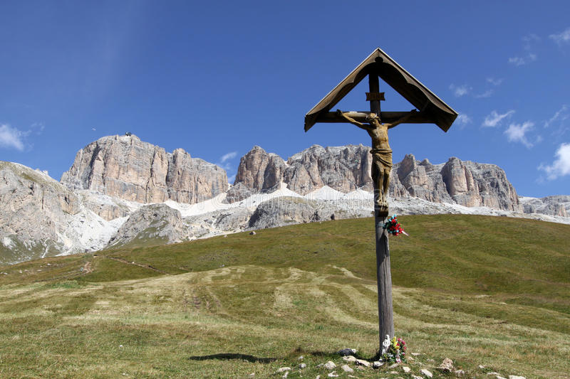 Download The Dolomites stock image. Image of houses, panoramic - 21059801