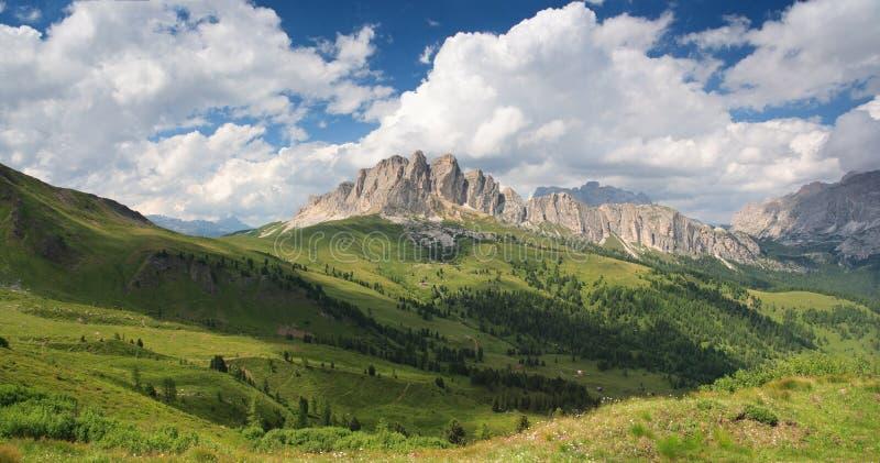 Dolomites royaltyfria bilder