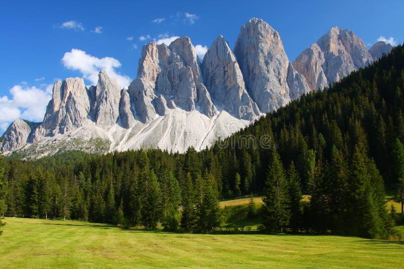 The Dolomites stock image