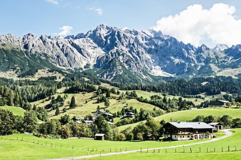 Download Dolomites stock photo. Image of house, extreme, austria - 29014108