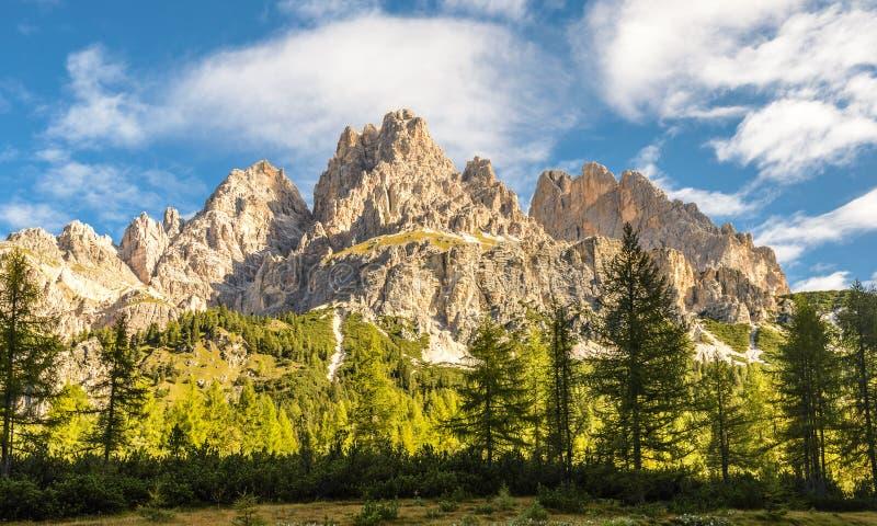 Dolomites Alps, Italië royalty-vrije stock foto