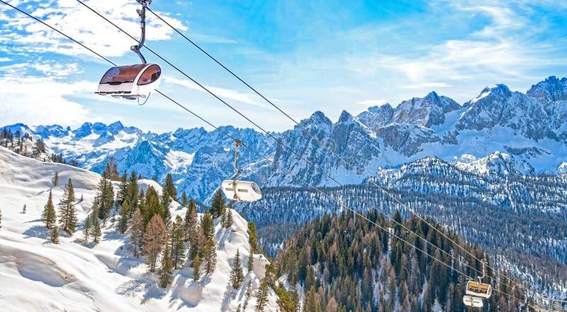 Dolomites at Cortina D`Ampezzo, Italy royalty free stock photography