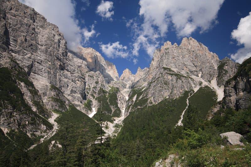 Dolomites de Brenta fotografia de stock royalty free