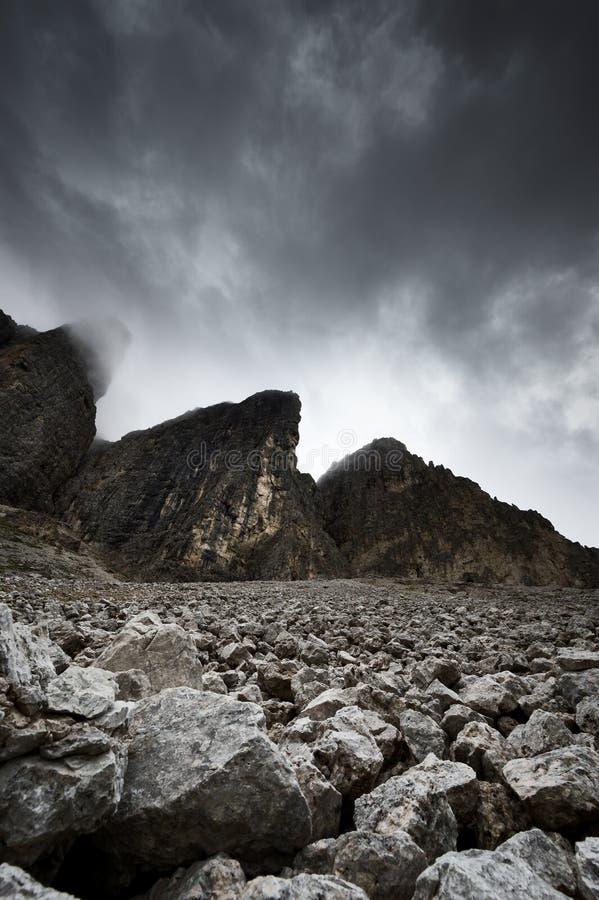 Dolomites en été images stock