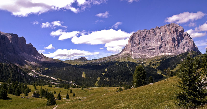 Dolomites Italie images stock