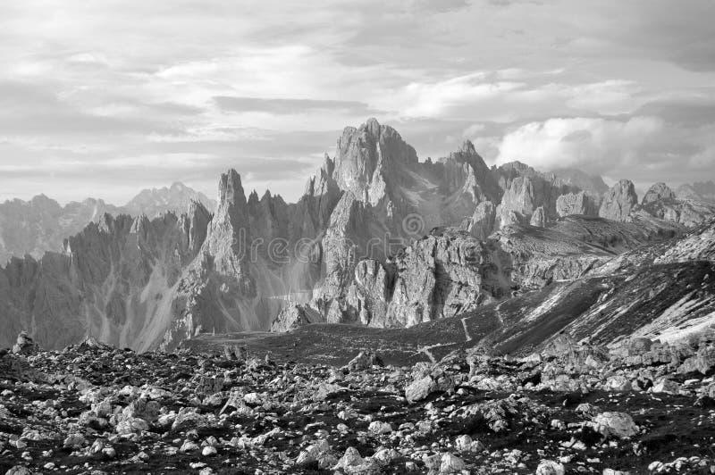 Dolomites mountains. Italy royalty free stock image
