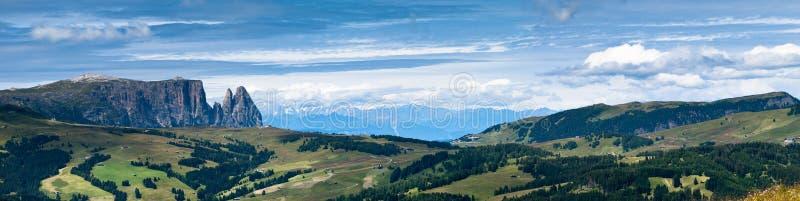 Dolomites Panorama, Italy Stock Images