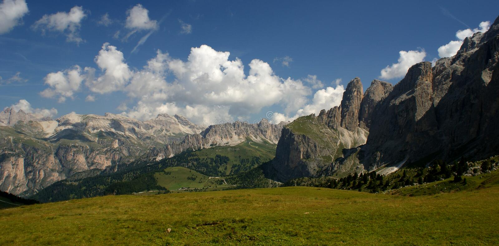 Dolomites Valley royalty free stock images