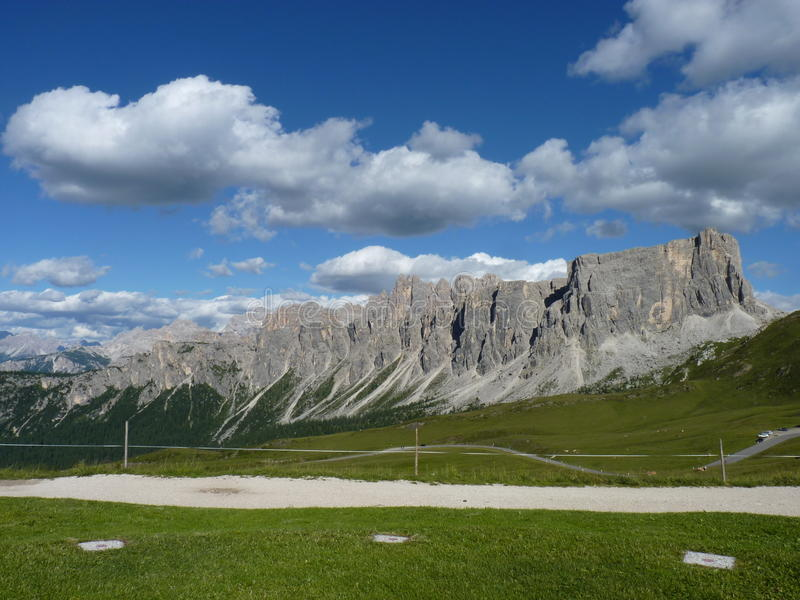 Dolomiti Άλπεων στοκ εικόνα με δικαίωμα ελεύθερης χρήσης