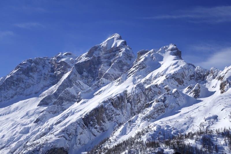Dolomiti Alps Włochy zdjęcie royalty free