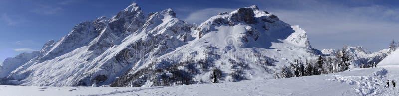 Dolomiti Alps Włochy fotografia royalty free