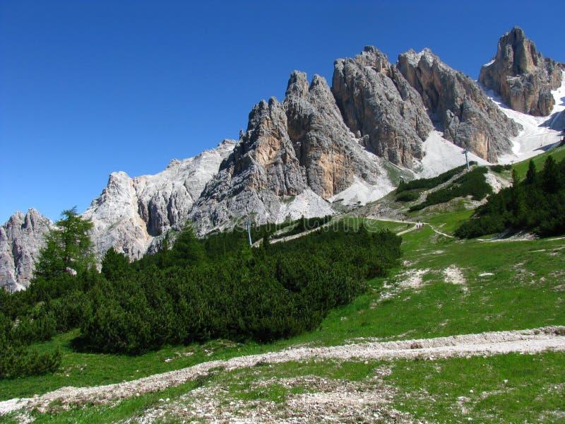 Dolomiti Berge lizenzfreie stockbilder