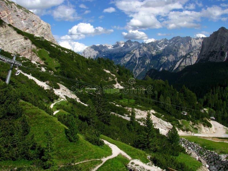 Dolomiti Berge lizenzfreie stockfotografie