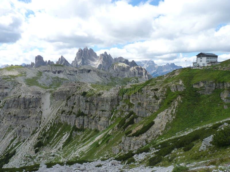 Dolomiti de las montañas imágenes de archivo libres de regalías