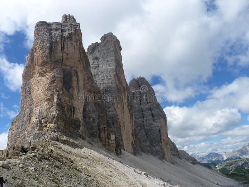 Dolomiti de las montañas imagen de archivo