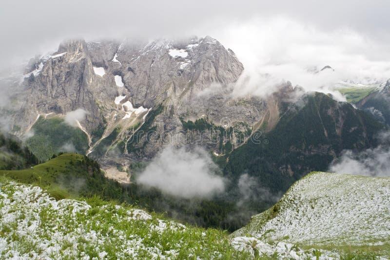 Dolomiti first snow