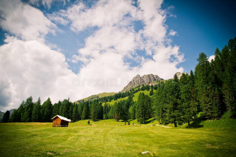 Dolomiti Mountains In Italy Stock Photos