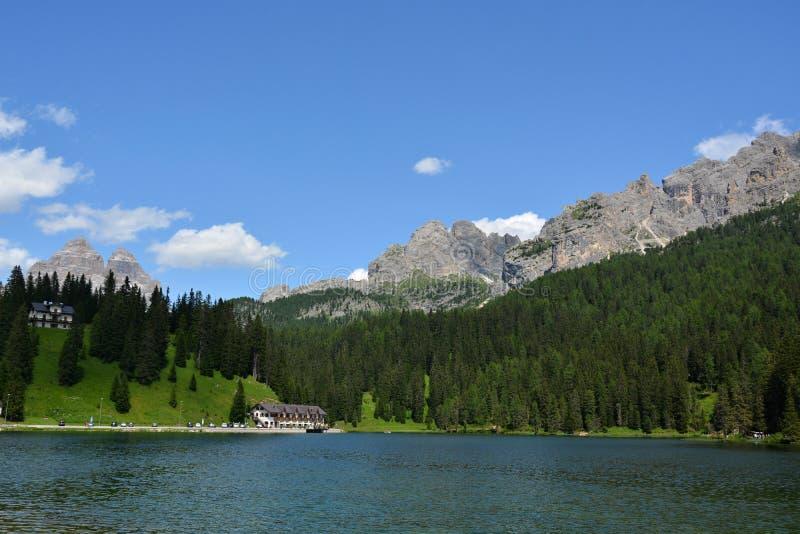 Dolomiti - Tre Cime di Lavaredo royaltyfria bilder