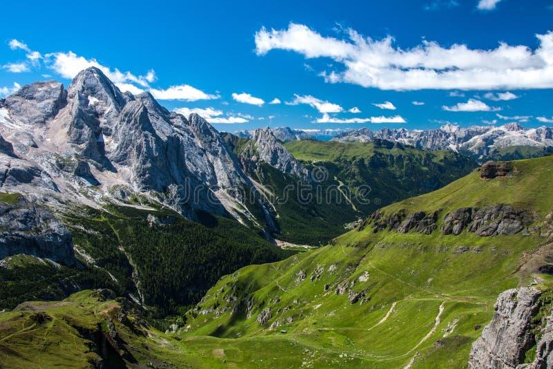 Dolomities - Marmolada стоковые фото