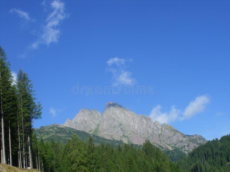Dolomity berg royaltyfria bilder