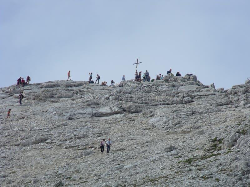 Dolomity berg arkivfoto