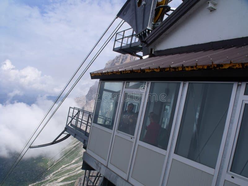 Dolomity berg fotografering för bildbyråer