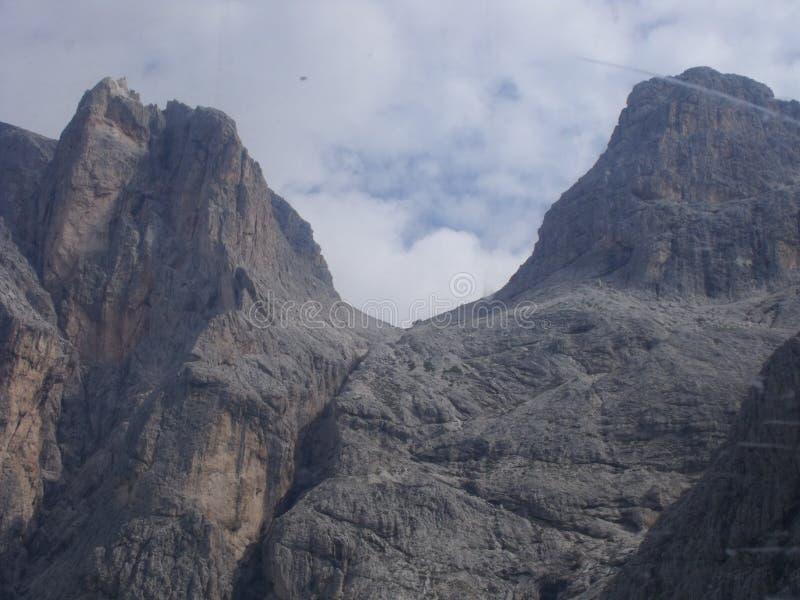 Dolomity berg royaltyfri fotografi
