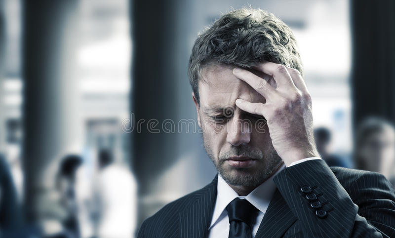 Dolor de cabeza imagenes de archivo
