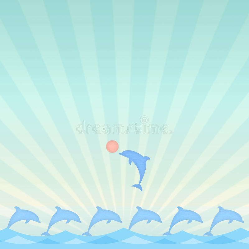 Download Dolphin stock illustration. Image of aquatic, leader - 26253244