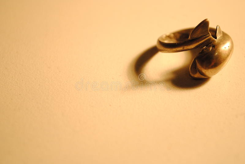 Download Dolphin silver ring stock image. Image of antique, ring - 12260959