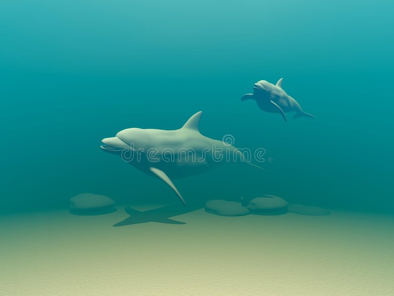 Download Dolphins Stock Image - Image: 181451