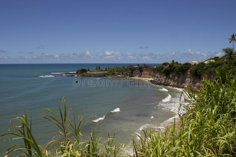 Dolphins Cove - Natal Brazil beaches. Natal the Capital of Rio Grande do Norte state in Brazilian northeast stock photography