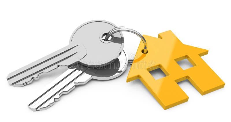 Domów klucze ilustracja wektor