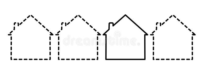 domów target1158_1_ ilustracji
