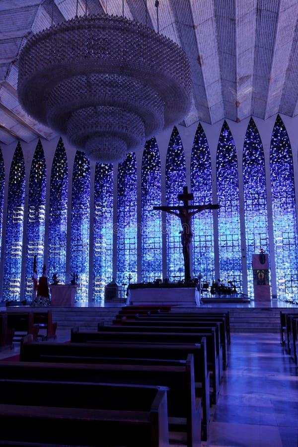 DOM της Μπραζίλια bosco santuary στοκ εικόνες