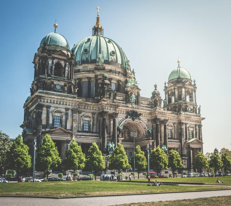 Dom берлинца собора Берлина в Берлине, Германии стоковое фото