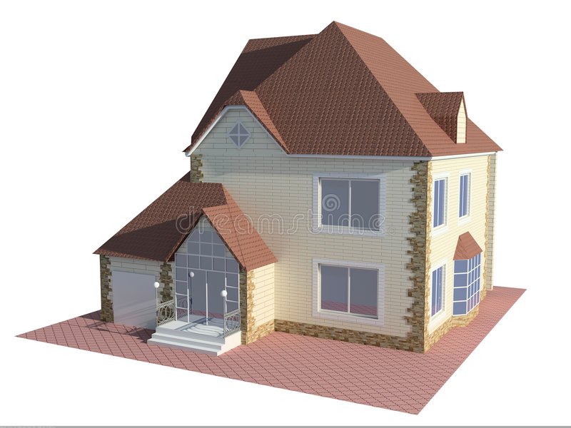 dom royalty ilustracja
