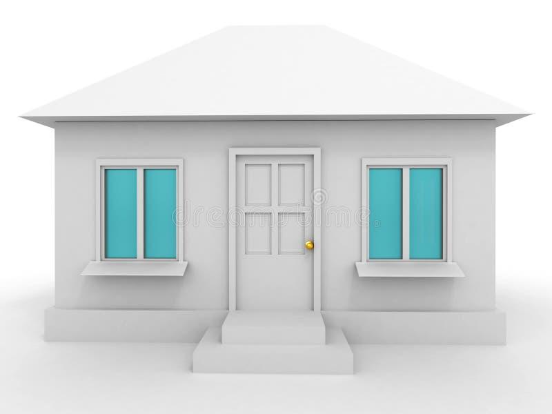 Download Dom ilustracji. Ilustracja złożonej z budujący, architektury - 13341950