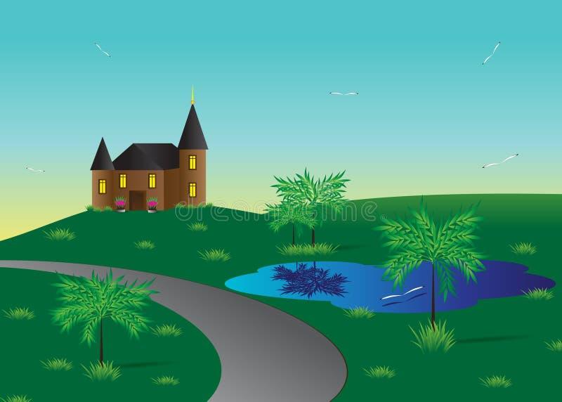 Dom. royalty ilustracja